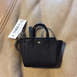 NWT Kate Spade mini bag keychain